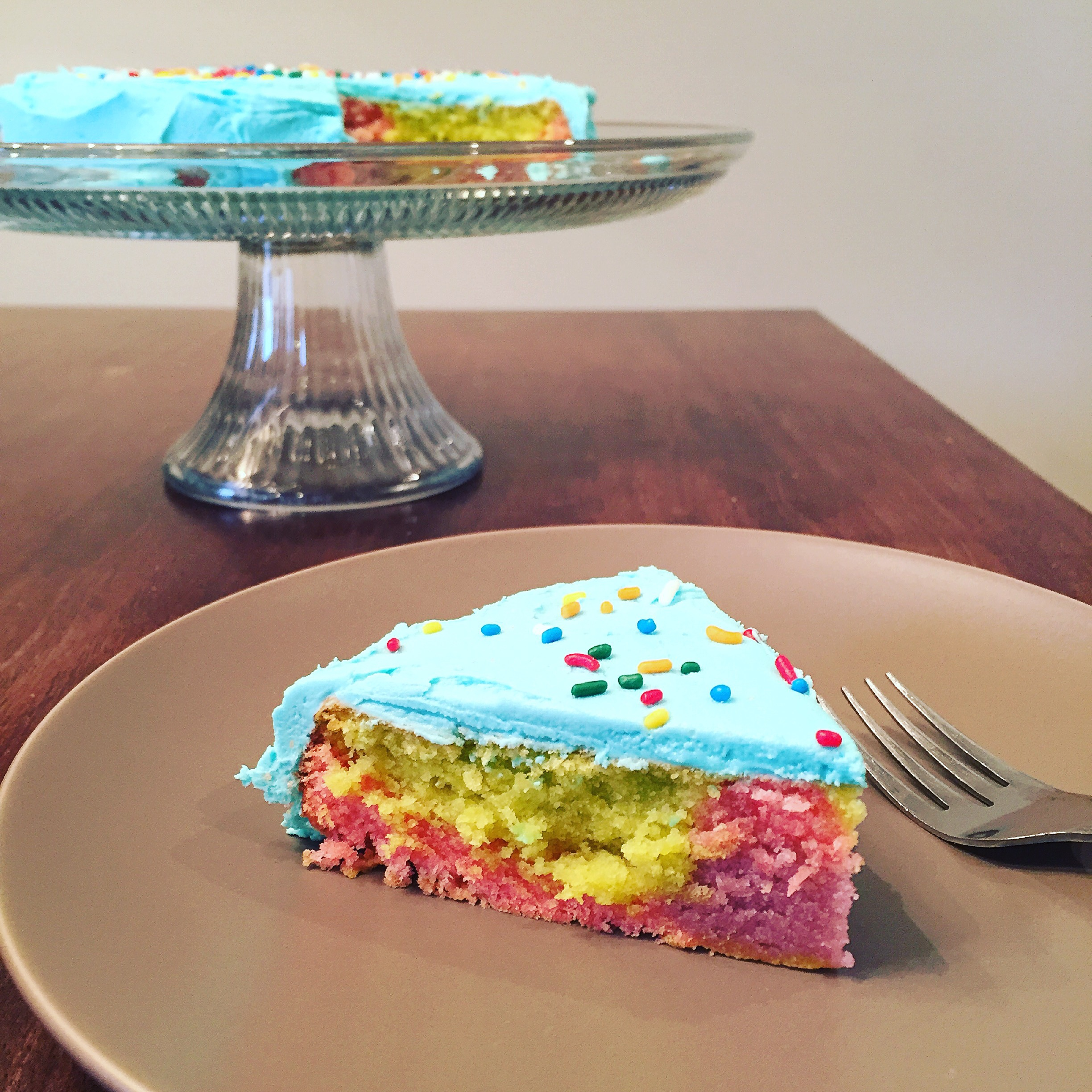 food coloring – this baking beauty