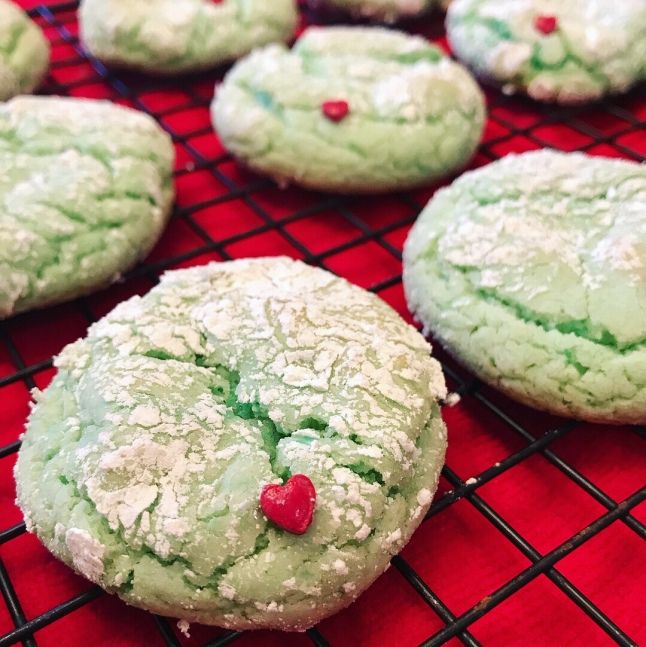Grinch Cookies This Baking Beauty